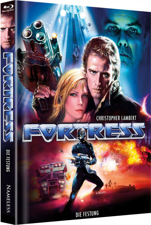 Fortress - Die Festung - Limited Mediabook Edition - Cover C [Blu-ray+DVD]