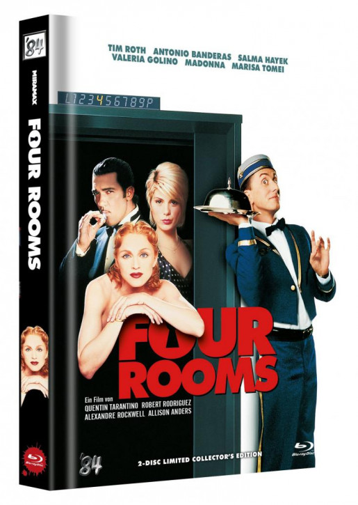 Four Rooms - Limited Collector's Edition - Cover B [Blu-ray+DVD]
