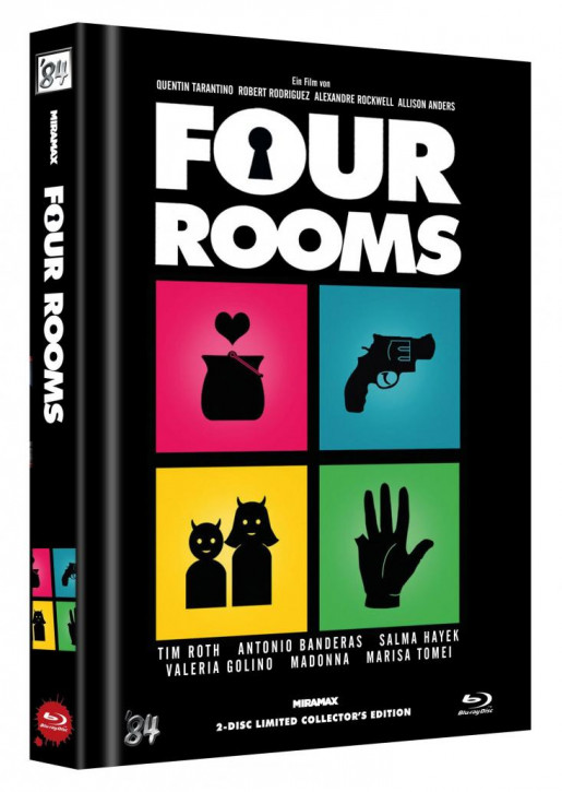 Four Rooms - Limited Collector's Edition - Cover C [Blu-ray+DVD]