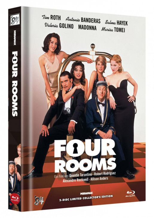 Four Rooms - Limited Collector's Edition - Cover D [Blu-ray+DVD]