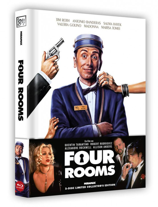 Four Rooms - Limited Collector's Edition [Blu-ray+DVD]