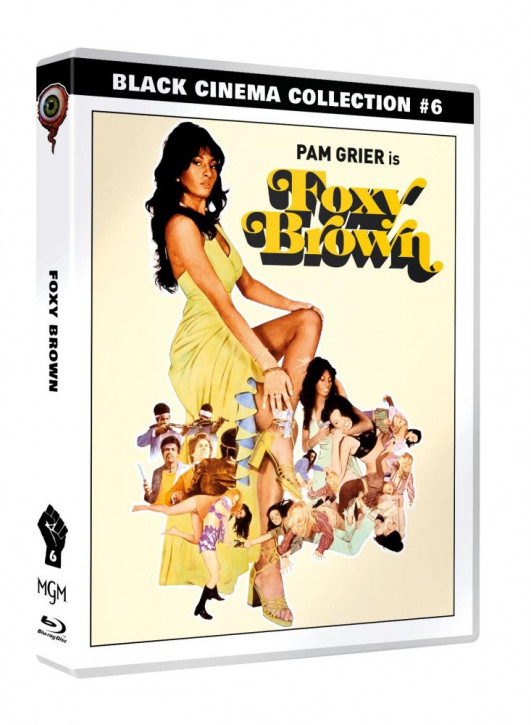 Foxy Brown - Black Cinema Collection #06 [Blu-ray+DVD]