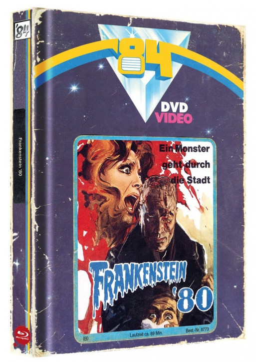 Frankenstein '80 - Limited Collector's Edition - Cover A [Blu-ray+DVD]
