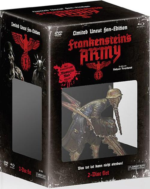 Frankensteins Army - Special Edition (inkl. Mosquito-Man) [Blu-ray+DVD]