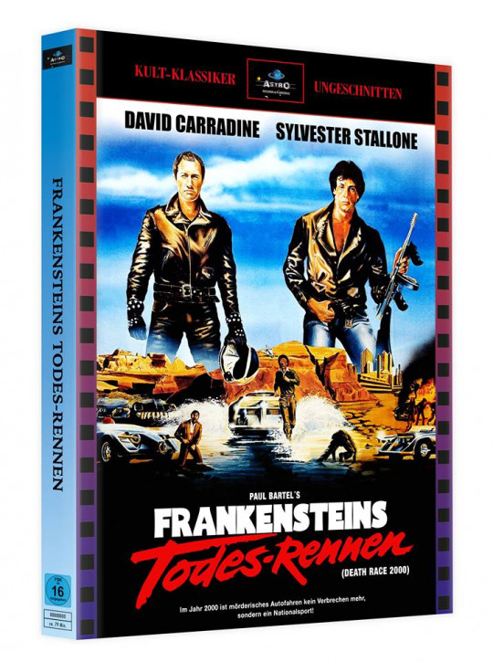 Frankensteins Todes-Rennen - Mediabook - Cover A [Blu-ray]