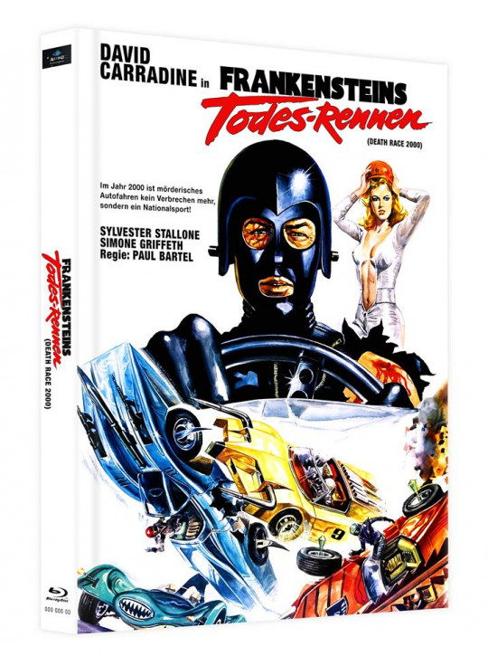 Frankensteins Todes-Rennen - Mediabook - Cover B [Blu-ray]