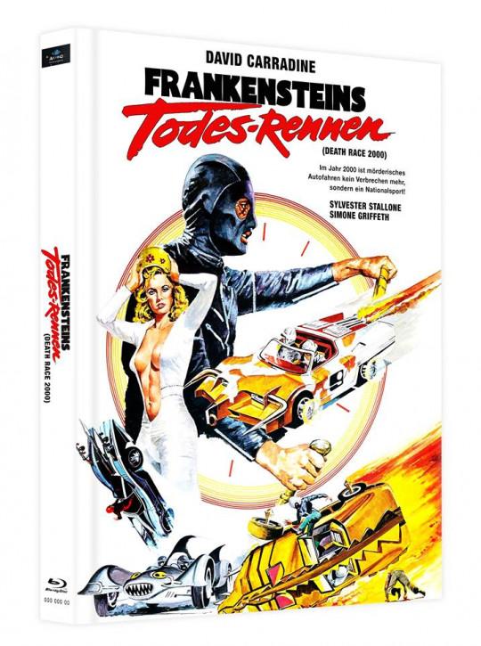 Frankensteins Todes-Rennen - Mediabook - Cover C [Blu-ray]