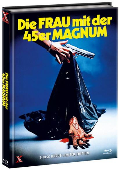 Die Frau mit der 45er Magnum - Limited Edition - Cover B [Bluray+DVD]