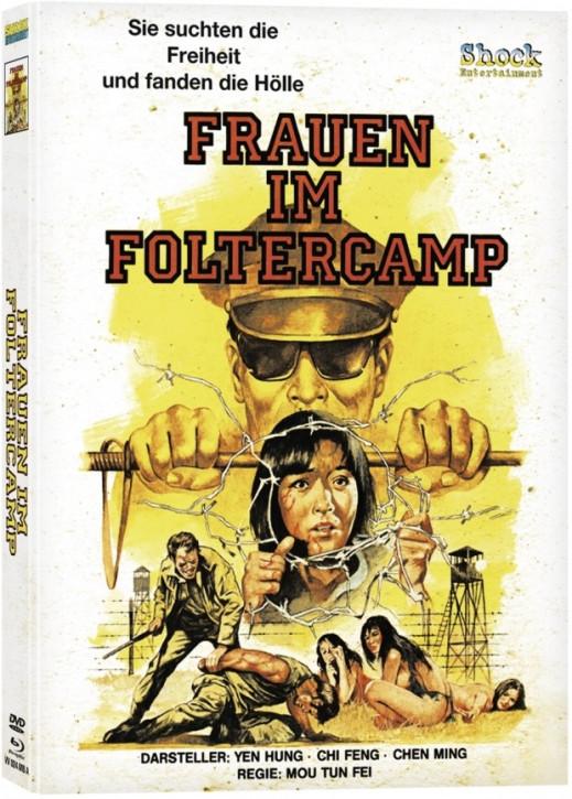 Frauen im Foltercamp - Mediabook - Cover A [Blu-ray+DVD]