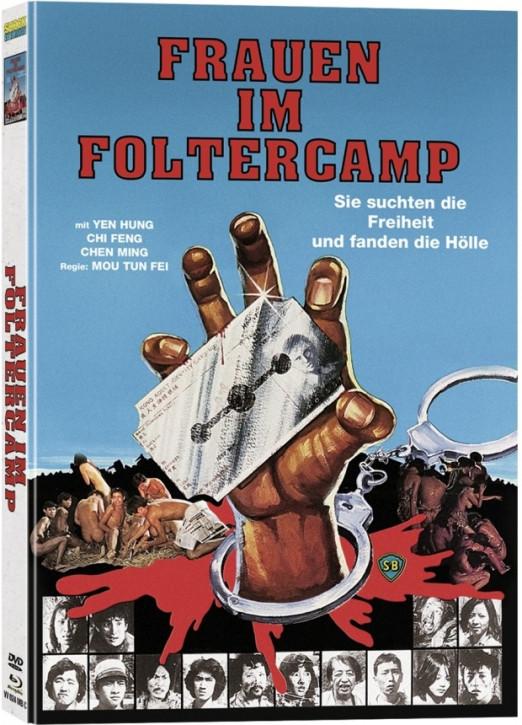 Frauen im Foltercamp - Mediabook - Cover C [Blu-ray+DVD]