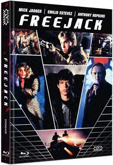Freejack - Mediabook - Cover B [Blu-ray]