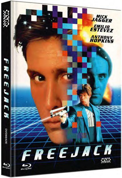 Freejack - Mediabook - Cover E [Blu-ray]
