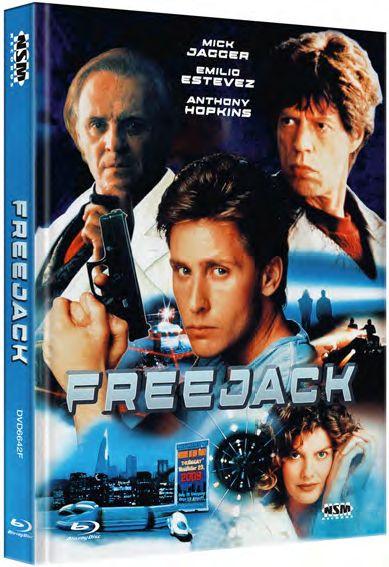 Freejack - Mediabook - Cover F [Blu-ray]