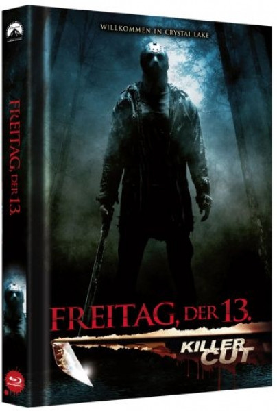 Freitag der 13. - Killer Cut - Limited Collectors Edition Mediabook - Cover B [Blu-ray]