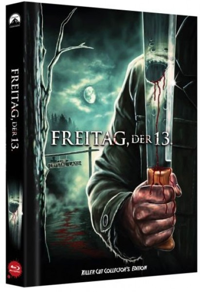 Freitag der 13. - Killer Cut - Limited Collectors Edition Mediabook - Cover C [Blu-ray]