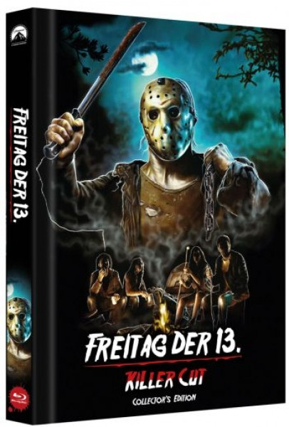 Freitag der 13. - Killer Cut - Limited Collectors Edition Mediabook - Cover D [Blu-ray]