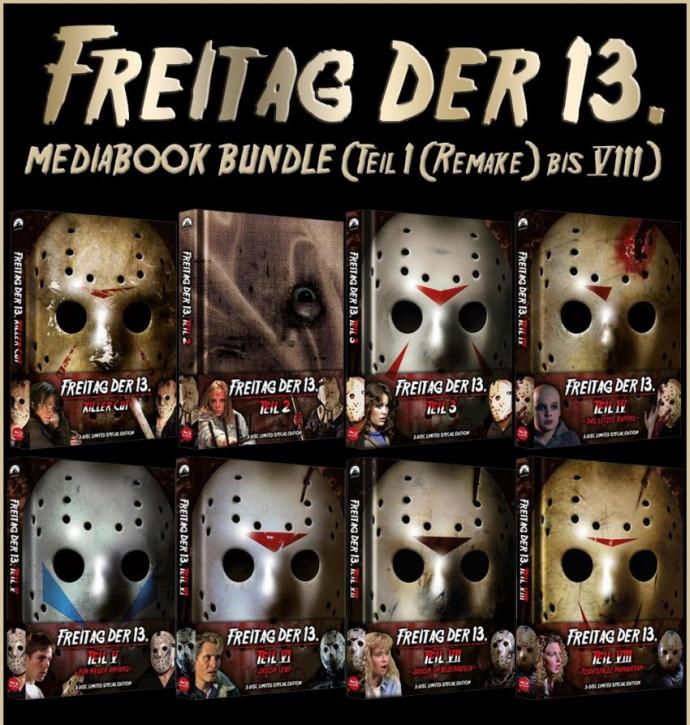 Freitag der 13. - Mediabook Bundle [Blu-ray+DVD]