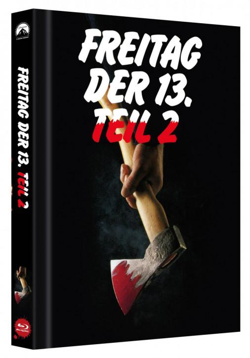 Freitag der 13. - Teil 2 - Limited Collectors Edition Mediabook - Cover B [Blu-ray]