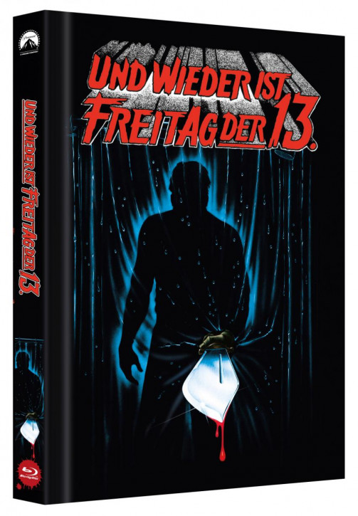 Freitag der 13. - Teil 3 - Limited Collectors Edition Mediabook - Cover B [Blu-ray]