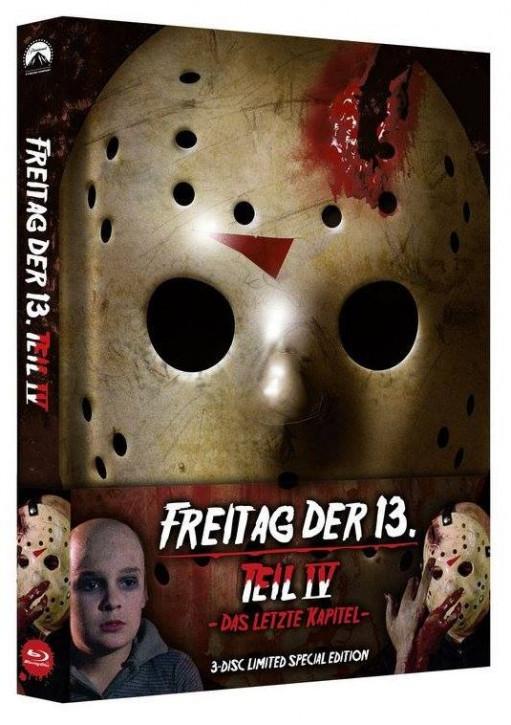 Freitag der 13. Teil 4 - Limited Special Edition [Blu-ray+DVD]
