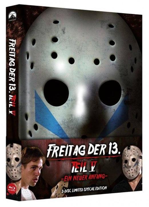 Freitag der 13. Teil 5 - Limited Special Edition [Blu-ray+DVD]