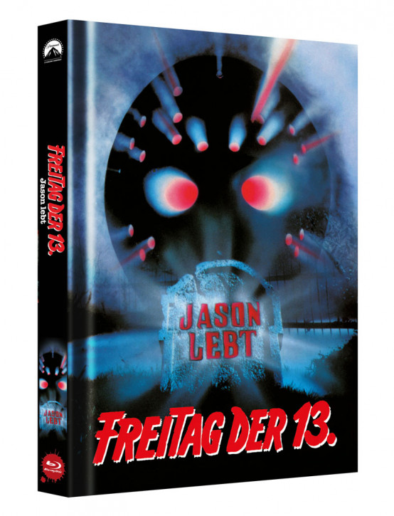 Freitag der 13. - Teil 6 - Limited Collectors Edition Mediabook - Cover B [Blu-ray]