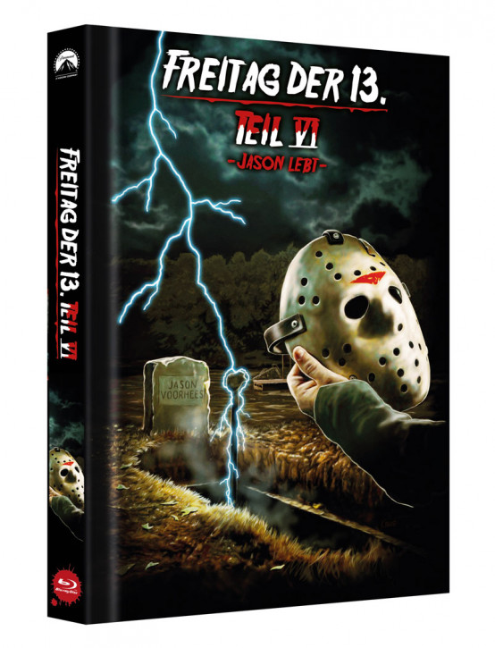 Freitag der 13. - Teil 6 - Limited Collectors Edition Mediabook - Cover C [Blu-ray]