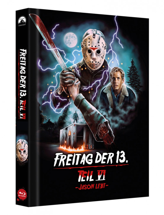 Freitag der 13. - Teil 6 - Limited Collectors Edition Mediabook - Cover D [Blu-ray]
