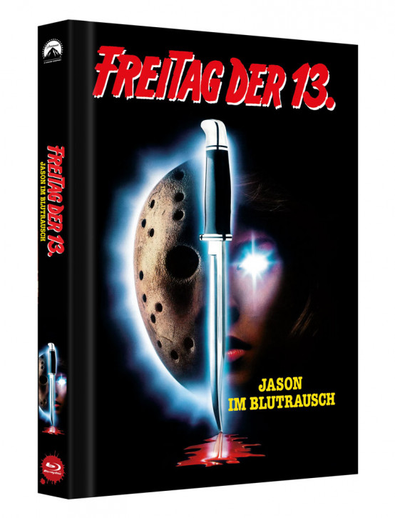 Freitag der 13. - Teil 7 - Limited Collectors Edition Mediabook - Cover B [Blu-ray]