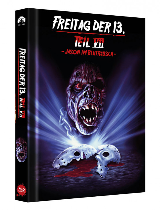 Freitag der 13. - Teil 7 - Limited Collectors Edition Mediabook - Cover C [Blu-ray]