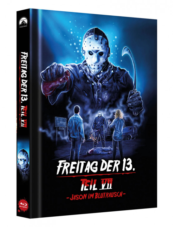 Freitag der 13. - Teil 7 - Limited Collectors Edition Mediabook - Cover D [Blu-ray]