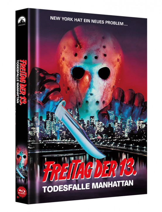 Freitag der 13. - Teil 8 - Limited Collectors Edition Mediabook - Cover B [Blu-ray]