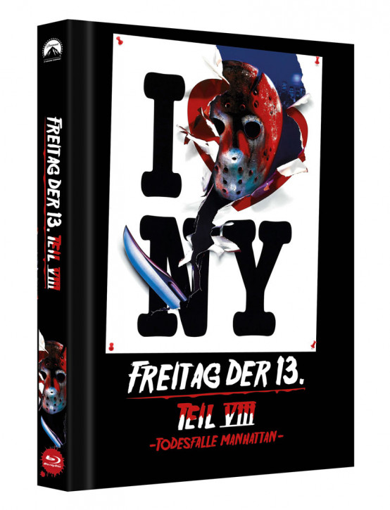 Freitag der 13. - Teil 8 - Limited Collectors Edition Mediabook - Cover C [Blu-ray]