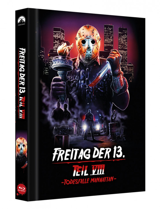Freitag der 13. - Teil 8 - Limited Collectors Edition Mediabook - Cover D [Blu-ray]