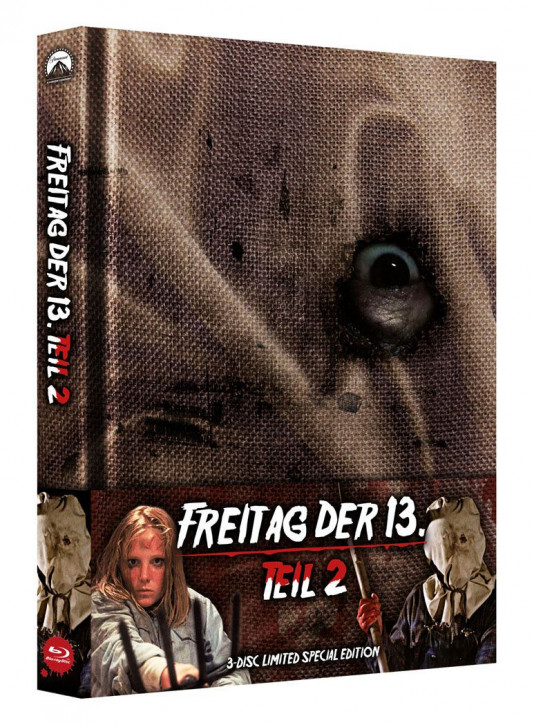 Freitag der 13. Teil 2 - Limited Special Edition [Blu-ray+DVD]