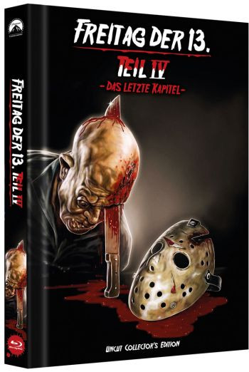 Freitag der 13. - Teil 4 - Limited Collectors Edition Mediabook - Cover C [Blu-ray]