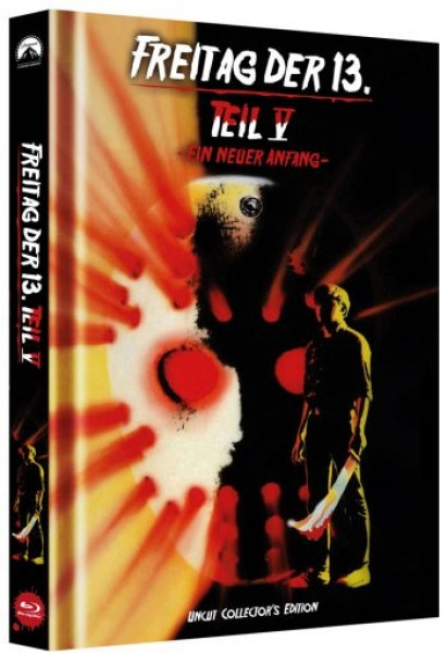 Freitag der 13. - Teil 5 - Limited Collectors Edition Mediabook - Cover C [Blu-ray]