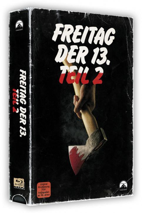 Freitag der 13. Teil 2 - Retro Edition im VHS-Look [Blu-ray]