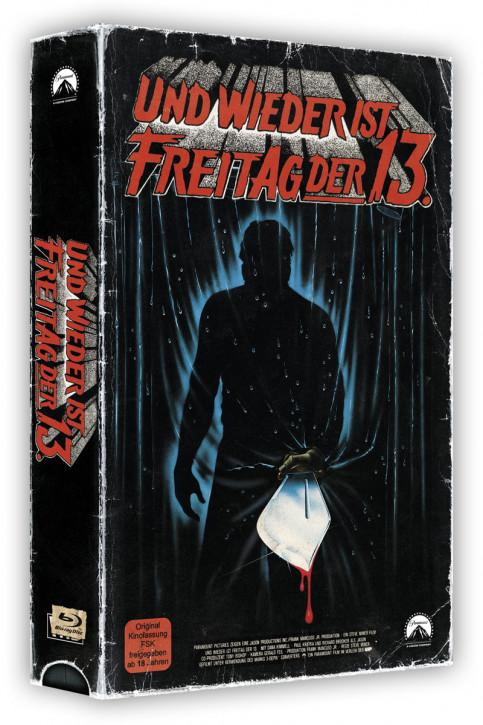 Freitag der 13. Teil 3 - Retro Edition im VHS-Look [Blu-ray]
