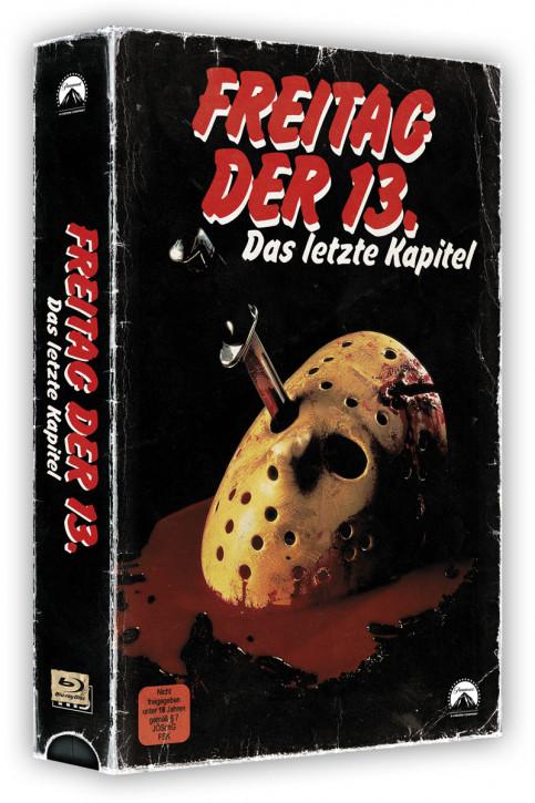 Freitag der 13. Teil 4 - Retro Edition im VHS-Look [Blu-ray]