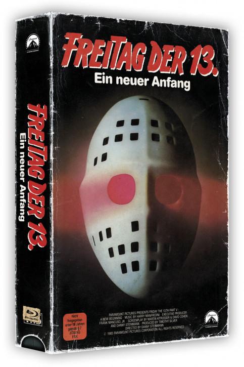 Freitag der 13. Teil 5 - Retro Edition im VHS-Look [Blu-ray]