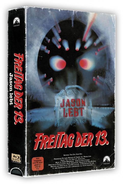 Freitag der 13. Teil 6 - Retro Edition im VHS-Look [Blu-ray]