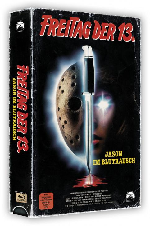 Freitag der 13. Teil 7 - Retro Edition im VHS-Look [Blu-ray]