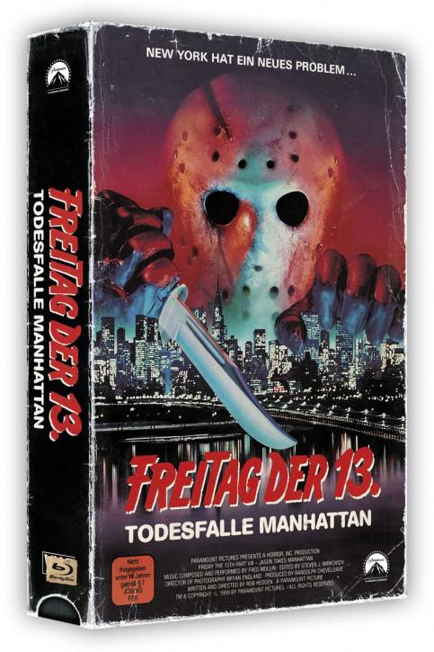 Freitag der 13. Teil 8 - Retro Edition im VHS-Look [Blu-ray]