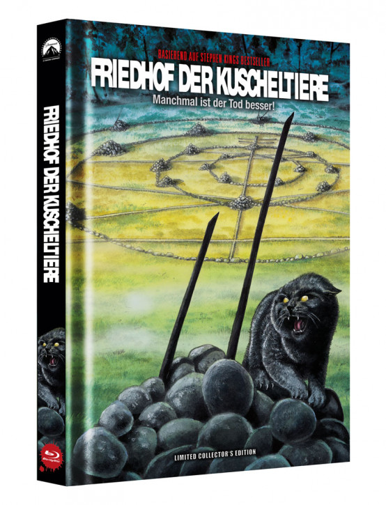 Friedhof der Kuscheltiere - Limited Collector's Edition - Cover B [Blu-ray]