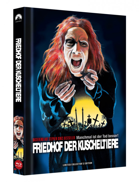 Friedhof der Kuscheltiere - Limited Collector's Edition - Cover C [Blu-ray]