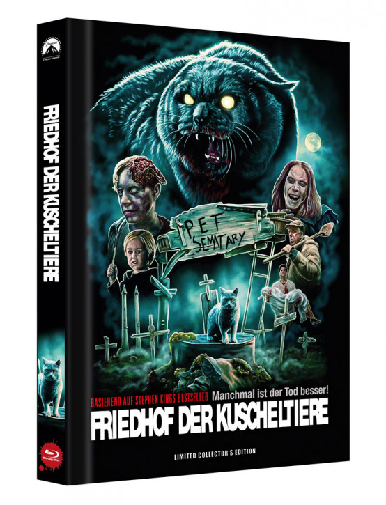 Friedhof der Kuscheltiere - Limited Collector's Edition - Cover D [Blu-ray]