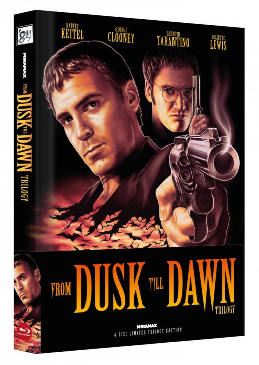 From Dusk Till Dawn Trilogy - Limited Collector's Edition - Cover A [Blu-ray]