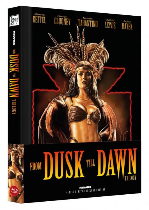 From Dusk Till Dawn Trilogy - Limited Collector's Edition - Cover B [Blu-ray]