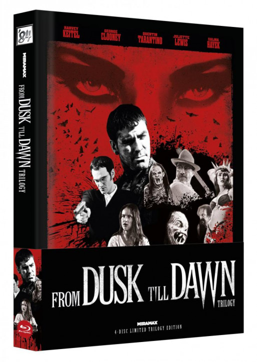 From Dusk Till Dawn Trilogy - Limited Collector's Edition - Cover C [Blu-ray]